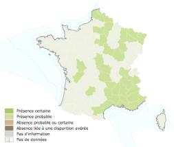 Répartition actuelle de la Soucoupe commune